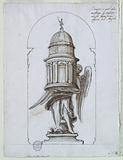 Door of a Tabernacle Intended To Be Executed In Bronze