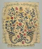 Embroidery: crewel wool