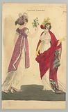 Costume Parisien (Parisian Costume), Magazine of Female Fashion of London and Paris