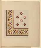 Corner Design for Mosaic Floor