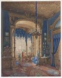 Alcove in the Salon of the Grand Duchess Anna of Mecklenburg-Schwerin