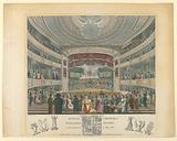 Interior View of the Coburg Theater, London