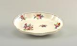 Oval Dishes with Floral Sprays