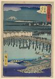 Nihonbashi from the series 53 Stations of Tokaido