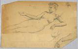 Study of Nude Figure