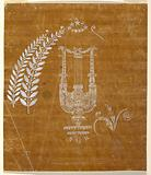 "Design for a Woven Fabric of the ""Fabrique de St Ruf"""