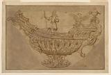 Fragment of a Design for a Bowl