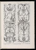 Two Upright Panels, Livre Nouveaux de Paneaux à divers usages (Book of New Panels for Various Uses)