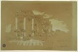 Temple at Mismiyeh, Syria