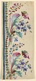 Design for an Embroidered Veritcal Border