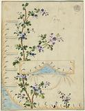 Design for Gilet, pattern 1732 of the Fabrique de St Ruf