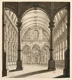 Stage Design: Vaulted Interior