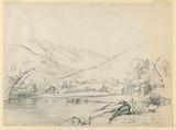 Mount Washington from Ellis River, Looking North