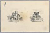 Two Sketches of Houses