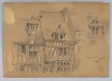 Houses in Rouen