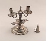 Candlestick with snuffers