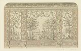 Design for Chinoiserie Wall Decoration