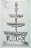 Design for a Three-Tiered Sweetmeat and Stand