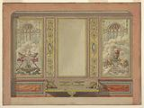 Elevation of a Salon Wall, for the Palace of the Prince of Hesse
