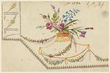 Design for Embroidered Waistcoat, pattern 1594 of the Fabrique de St Ruf