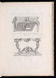 Table de Cabinet. , 6th Plate. 47 in Oeuvre de Juste-Aurele Meissonnier.