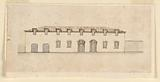 Elevation of a royal building