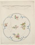 Design for a Painted Porcelain Tray