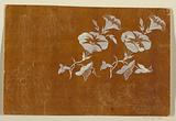"""Designs for Embroidered or Woven Floral Motifs of the """"Fabrique de St Ruf,"""" Finished and Unfinished"""