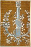 """Design for an Embroidery or Woven Fabric of the """"Fabrique de St Ruf"""""""