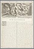 Recueil des Ouvrages en Serrurerie…sur la place Royale de Nancy (A Collection of Locksmith's Designs for the Royal Palace of Nancy)