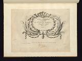Livre d'ornemens/Composés/Par Pre. Germain Md. Orfevre/Joayllier a Paris/Prix 2 tt. /1751.