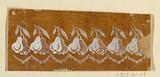 """Design for a Woven or Embroidered Horizontal Border, of the """"Fabrique de St Ruf"""""""