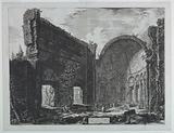 """Hadrian's Villa near Tivoli, """"Le Vedute di Roma"""""""
