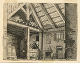 Stage Design, Interior of a Country Lodging