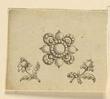 Design for Three Brooches