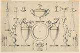Design for a Set of Silver Tableware