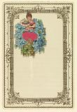 Greeting Card with Forget-Me-Nots