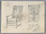 Sketch of Chair and Door