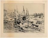 Un Vieux Port de la Normandie