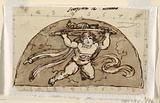 Scorpio, Lunette for Ceiling, Sala Ottagonale, Palazzo Milzetti, Faenza