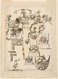 Architectural Details and Figure Study