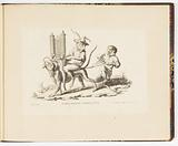 L'Organiste Ambulant (The Itinerant Organist), Singeries ou différentes actions de la vie humaine représentées par des singes (Monkey Antics or Different Actions of Human Life Represented by Monkeys)