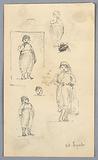 Sketches of Children at Eyub