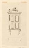 Design for a Hanging Sacristy Cupboard