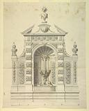 Design for a Fountain for the Palazzo Corsini, Rome, Italy