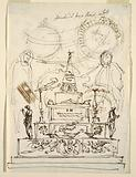Project for a Catafalque for the Funeral Service for Pope Pius VI in Forli