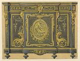 Design of a Cabinet in the Louis XVI Style