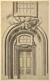 Design for a church doorway