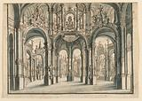 Stage Design, Open Palace Court