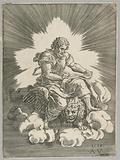 Saint Mark, seated on a Lion
